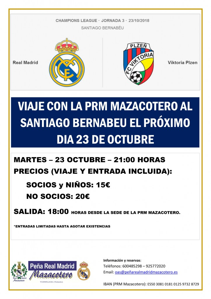 Microsoft Word - 2018_10_23_Cartel Real Madrid-Viktoria Plzen