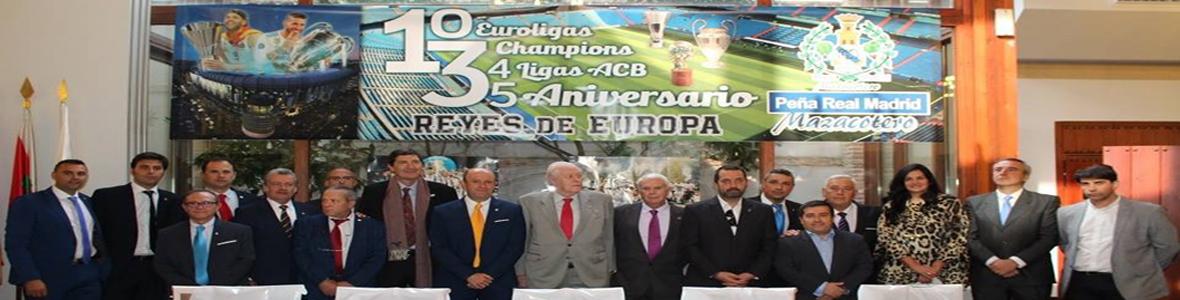 XXXV Aniversario Peña Real Madrid Mazacotero